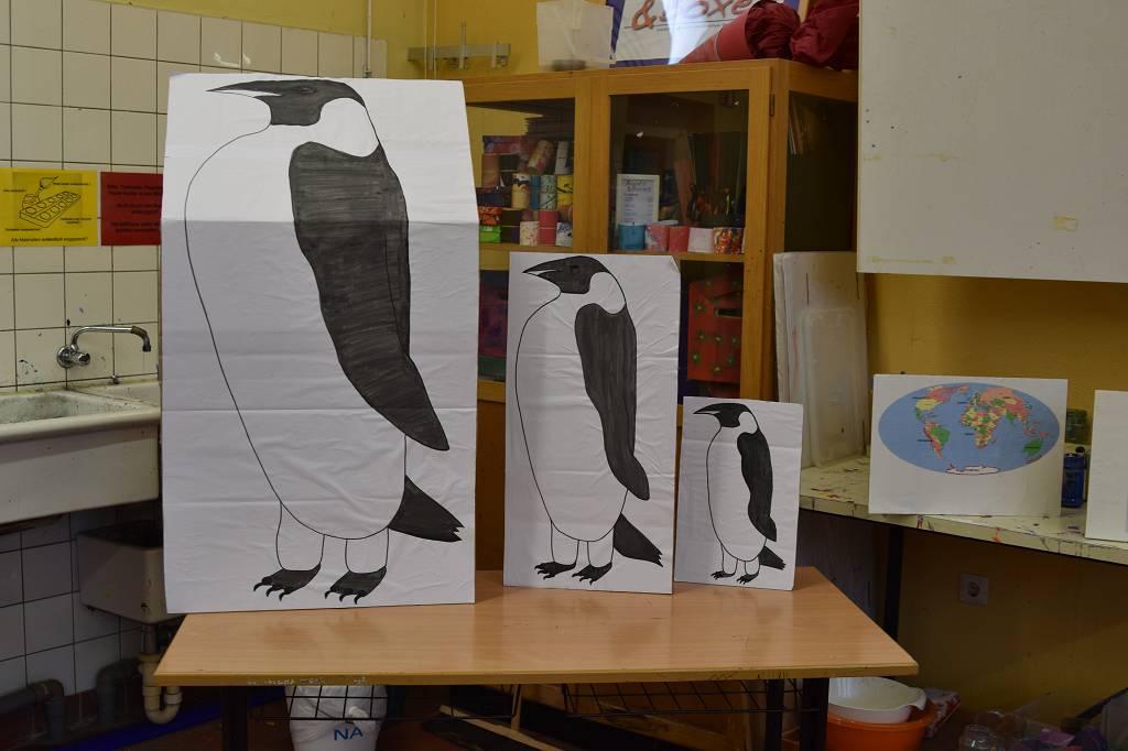 Pinguine in allen Größen