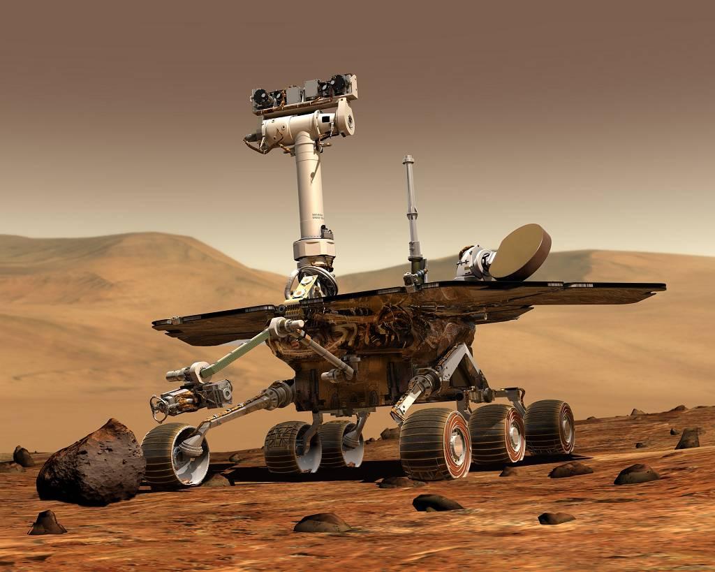 Sonde auf dem Mars