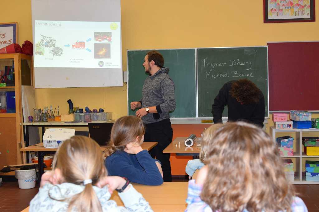 Ingmar erzählt über Schrottrecycling